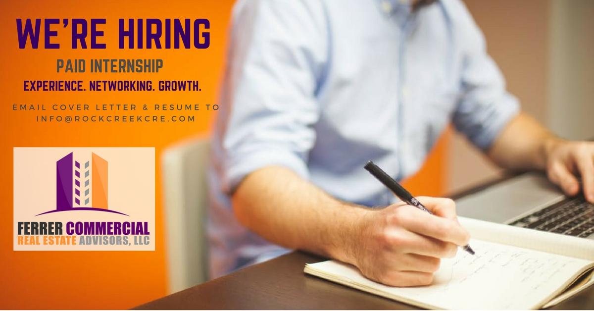 College of Charleston Internship Ad